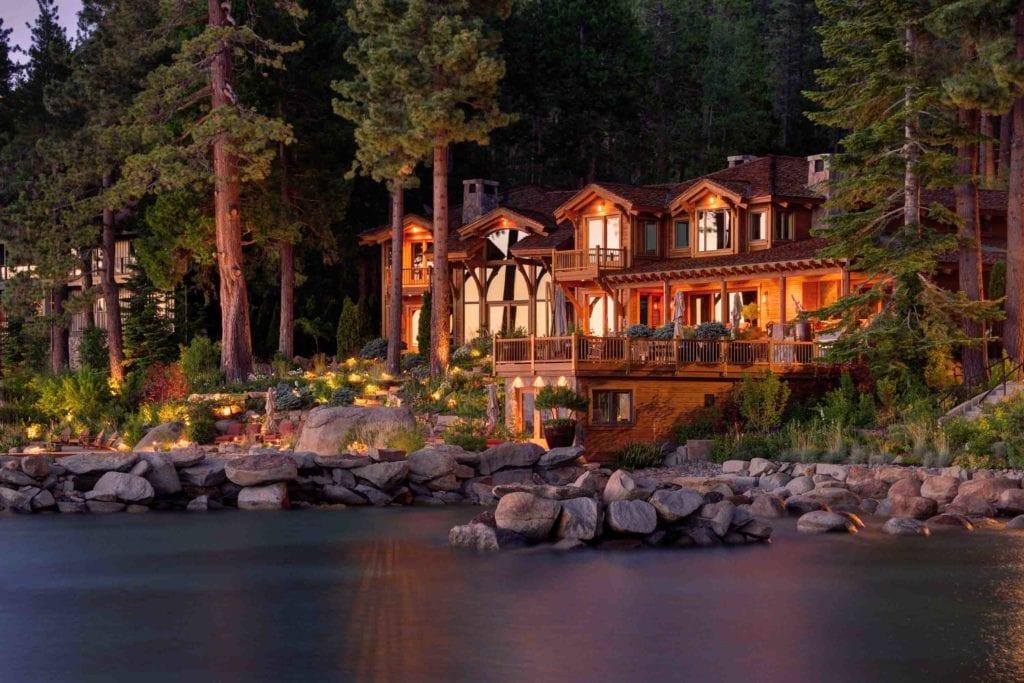 Tahoe City, CA Landscape Lighting